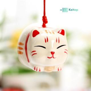 Mèo May Mắn Mèo Thần Tài Mèo Bình An Mèo Cầu Tài KEITOP MANEKI-008 - MANEKI-008 thumbnail