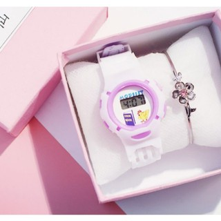 Đồng hồ dây cao su nữ - donghodaycaosunu 4