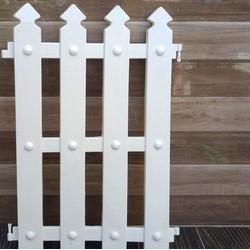 (Combo 2 miếng) Hàng rào nhựa (50cm x 30 cm/miếng) trang trí giáng sinh NOEL (Vườn Sài Gòn - Vuon Sai Gon)
