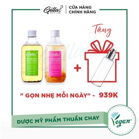 [TẶNG GIFT - COMBO 2 NƯỚC CÂN BẰNG GILLA8 - 020