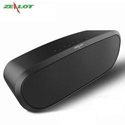 Loa bluetooth Zealot ngoài trời âm thanh siêu trầm hàng chính hãng tương thích điện thoại di động máy tính laptop