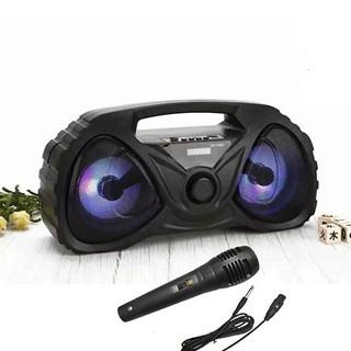 Loa Bluetooth Karaoke Di động xách tay Cao cấp 526-DW (Tặng kèm Micro) - Loa Bluetooth 526-DW thumbnail
