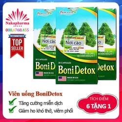 BoniDetox - Tăng cường miễn dịch hệ hô hấp, ngừa hen suyễn, viêm phổi
