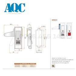 Khóa tủ điện MS603 Không Khóa