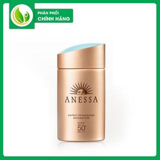 Kem Chống Nắng Shiiseido Anessa Perfect UV Sunscreen Skincare Milk SPF50+ PA+++ - 254356423 thumbnail
