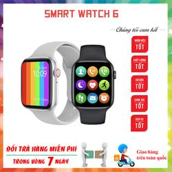 Đồng hồ thông minh W26 Thiết kế Watch Seri 6 Màn hình tràn viền Tiếng Việt 100%