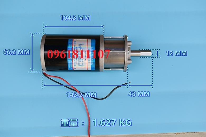 Motor giảm tốc 220v planetary 48 vòng - Motor giảm tốc 220V dc 6