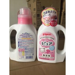 Nước giặt quần áo cho bé pigeon chai 800ml - 4902508121316 thumbnail