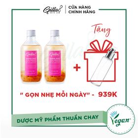 [TẶNG GIFT] - COMBO 2 CHAI NƯỚC CÂN BẰNG HOA HỒNG GILLA8 - 021