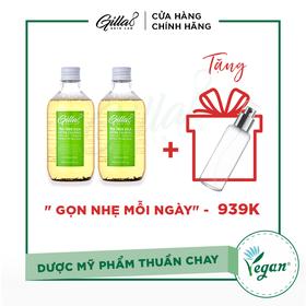 [TẶNG GIFT] - COMBO 2 NƯỚC CÂN BẰNG LÁ TRÀ BAY GILLA8 - 022