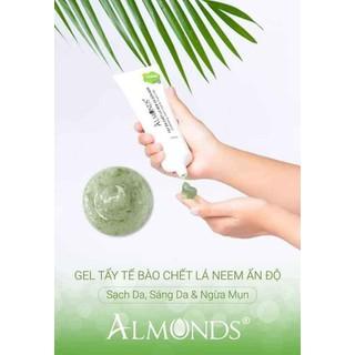 Tẩy da chết sữa non&lá neem almonds - Almonds13 thumbnail
