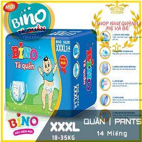 Tã quần Bino Bigsize XXXL14 miếng 18-35kg - BINO-QUAN-XXXL14 - XXXL14