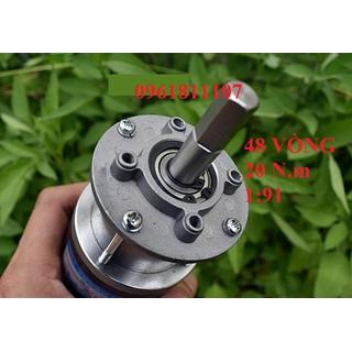 Motor giảm tốc 220v planetary 48 vòng - Motor giảm tốc 220V dc 2