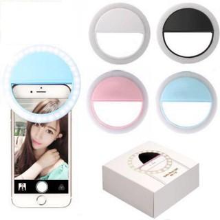 Đèn LED hỗ trợ ánh sáng Selfie cho điện thoại, máy tính bảng - DLHT thumbnail