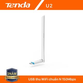 Tenda USB kết nối Wifi U2 tốc độ 150Mbps - Hãng phân phối chính thức - Tenda U2 thumbnail