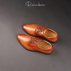 Giày tây nam Oxford Da bò Thật cao cấp nhập khẩu từ Ý Rainbow RBG10
