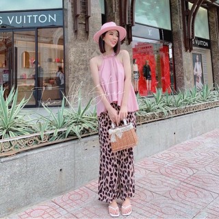 Set Áo Yếm Quần Beo Dễ Thương - 5944664874 thumbnail