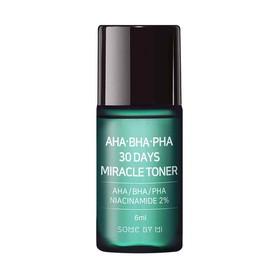 [minisize] Nước Hoa Hồng Giảm Mụn AHA-BHA-PHA 30 Days Miracle Toner 6ml - some by mi toner - JSBM-TN6