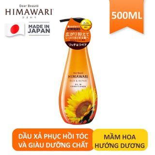 Dầu xả phục hồi tóc và giàu dưỡng chất Himawari 500ml - 49871 thumbnail
