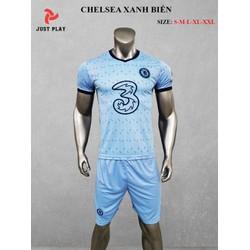 Quần áo bóng đá Chelsea Xanh Biển