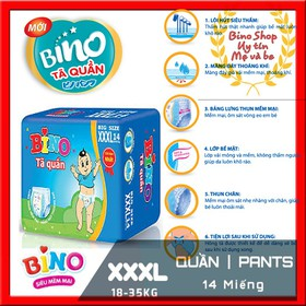 Bino XXXL14 Combo 3 tả quần xxxl bino - XXXL14