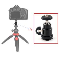Khớp xoay gắn máy ảnh, phụ kiện máy ảnh ,điện thoại vào tripod bằng kim loại cao cấp
