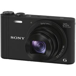 Máy ảnh Sony Cyber-shot DSC-WX350 Digital Camera (Black) ngôn ngữ tiếng Việt, Anh