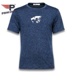 Áo thun thể thao nam logo in cao cấp co giãn thoáng mát big size Pigofashion GM06 - FS01 - nhiều màu