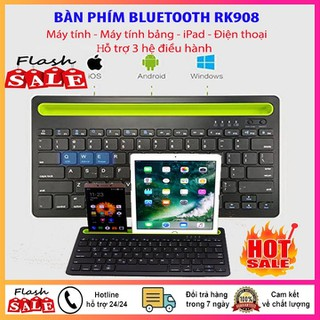 Bàn phím Bluetooth kết nối đa thiết bị RK908 - Bàn phím Bluetooth RK908 thumbnail