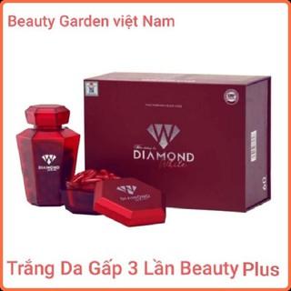 Viên Trắng Da Diamond White [Nguyên Mã QR] - Trắng Da Gấp 3 Lần Beauty Plus - viên uống trắng da thumbnail