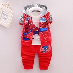 Bộ siêu nhân nhện cho bé trai