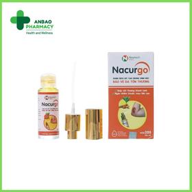 Dung dịch xịt bảo vệ da Nacurgo (30ml) - TH2204