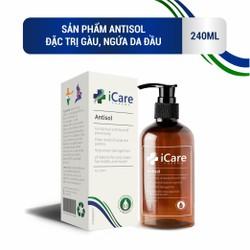 [Deal Sốc] Dầu gội trị gàu Antisol - pH 6.5 cân bằng độ ẩm da đầu, chiết xuất dược liệu tự nhiên