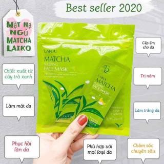 Mặt nạ ngủ Matcha Trà xanh Laikou - MNN25 thumbnail