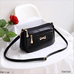 Túi đeo chéo nữ da mềm kiểu dáng thời trang TDC010