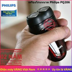 Máy cạo râu Philips PQ206 - Hàng chính hãng - Bảo hành 02 năm tại các Trung tâm bảo hành Philips trên toàn quốc