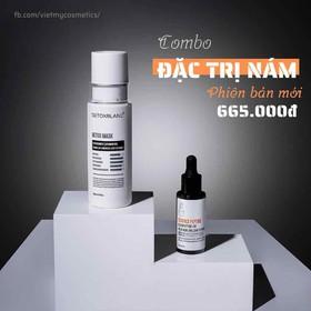 free 15k shipCOMBO TRỊ NÁM DETOX BLANC - nam