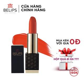 Son môi Belips son tươi mỏng nhẹ mềm môi 100% thiên nhiên không chì an toàn cho bà bầu Belips Sexy Lipstick chính hãng có 5 màu son thỏi 3,7g - Son Tươi Belips thumbnail
