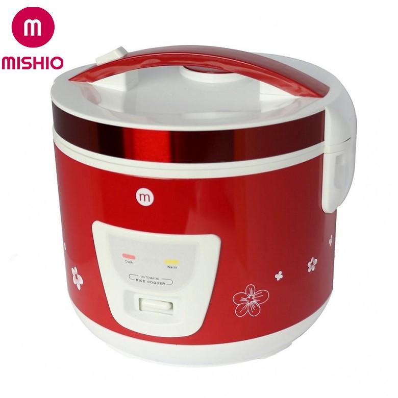 Nồi cơm niêu Mishio MK22 1.8L - Màu đỏ