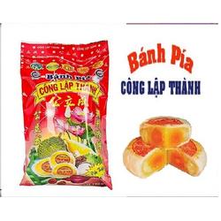 Bánh Pía Đậu Xanh Sầu Riêng Trứng Muối - Công Lập Thành - 300g (4 cái 1 gói) Phù Hợp Làm Qùa Tặng Trung Thu
