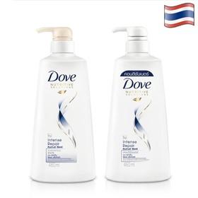Combo Dầu gội đầu DOVE 480ml và Dầu xã DOVE 460ml - Thái Lan - Dầu gội + Xã Dove