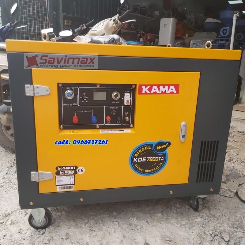 Máy phát điện KAMA là sản phẩm chính hãng của tập đoàn tại Đức.