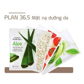 [XẢ KHO 3 NGÀY] PLAN 36.5 - Combo 10 Miếng Mặt Nạ Collagen Plan 36.5 Plant Cell Daily Mask 23ml - BHCPLANMATNA1-1