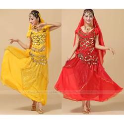 Trang phục Ấn Độ người lớn mẫu Váy kết hợp Áo cộc