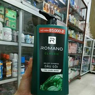 DẦU GỘI DƯỠNG TÓC CHẮC KHỎE ROMANO CLASSIC 900G!