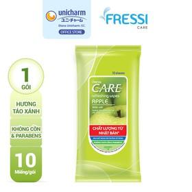 Khăn ướt Fressi Care Apple gói 10 miếng - 8934755035081