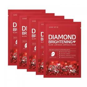 Combo 5 Mặt Nạ Dưỡng Sáng Da Some By Mi Diamond Brightening Mask Sheet 25g x5 - somebymi mask - JSBM-DIMASK5