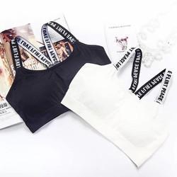 Áo bra, áo tập nữ dây chữ bản to 2002- LN058- Lê Ngọc Fashion