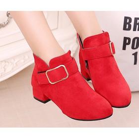 B07DO - Giày boot cho bé phong cách hàn quốc - B07DO