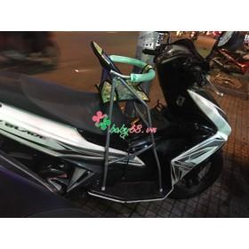 Ghế đi xe máy xếp gọn có vòng bảo vệ xe Airblade - Airblade 1